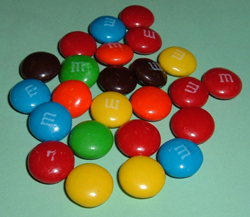 candy M&Ms