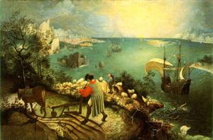 Peter Brueghel's Icarus