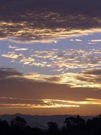 sunrise sunset clouds