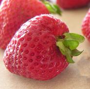 closeup strawberries